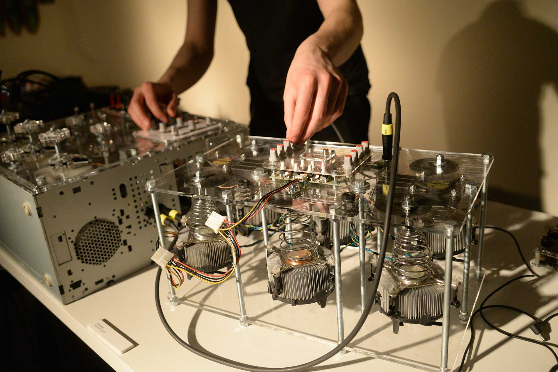 Experimental musical instruments